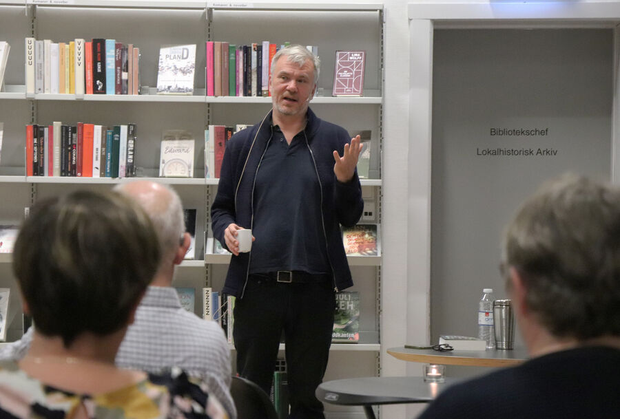 Jesper Stein på Lemvig Bibliotek