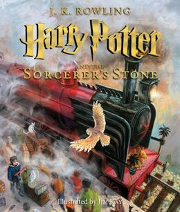 Joanne K. Rowling: Harry Potter and the sorcerer's stone (Ill. Jim Kay)
