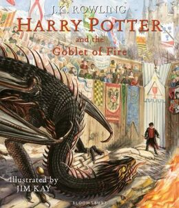 Joanne K. Rowling: Harry Potter and the goblet of fire (Ill. Jim Kay)